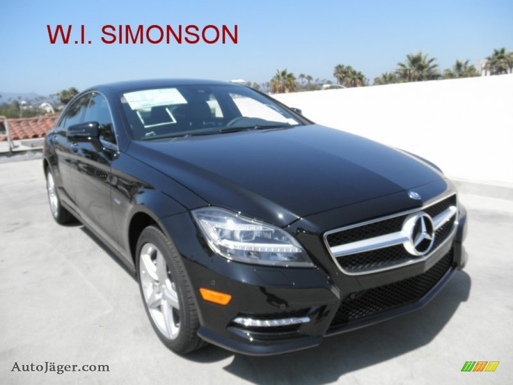 2012 mercedes benz cls 550 coupe in black 017977 auto for Simonson mercedes benz