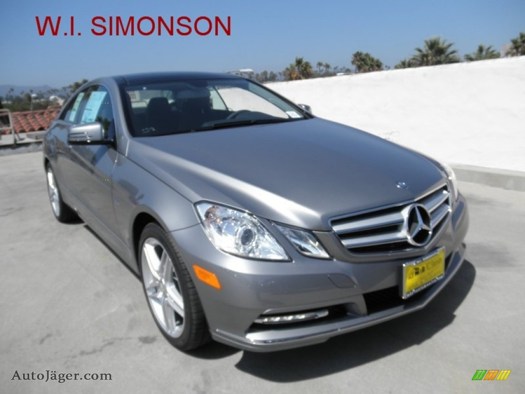 2012 mercedes benz e 350 coupe in palladium silver for Simonson mercedes benz