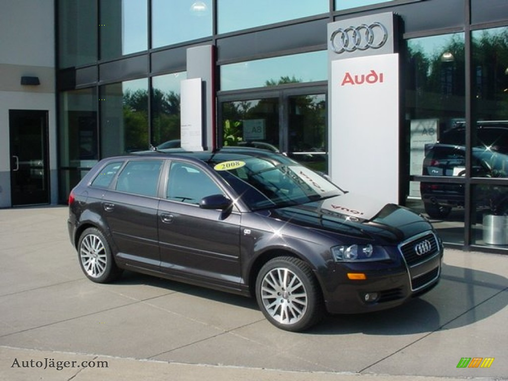 2008 Audi A3 2 0t In Lava Grey Pearl Effect 035829