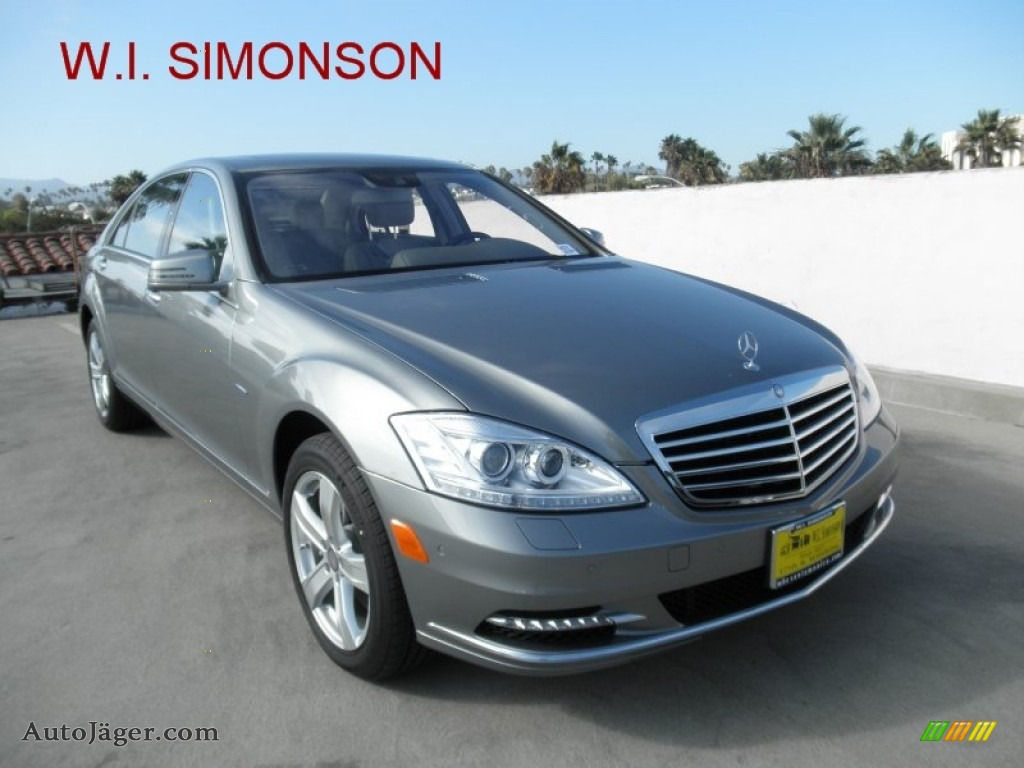 2012 mercedes benz s 550 sedan in paladium silver metallic for Simonson mercedes benz