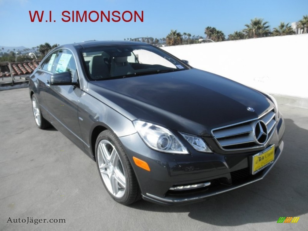 2012 mercedes benz e 350 coupe in steel grey metallic for Simonson mercedes benz