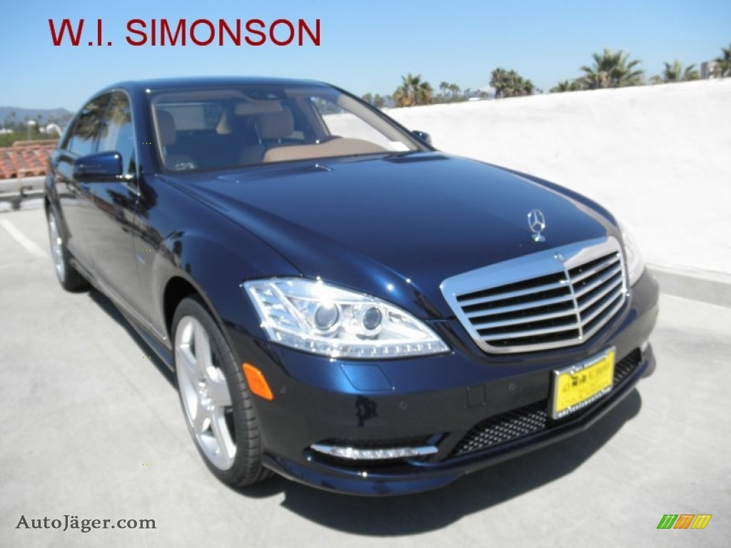 2012 mercedes benz s 550 sedan in lunar blue metallic for Simonson mercedes benz