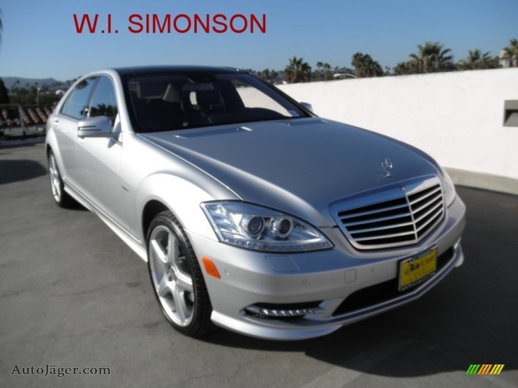 2012 mercedes benz s 550 sedan in iridium silver metallic for Simonson mercedes benz