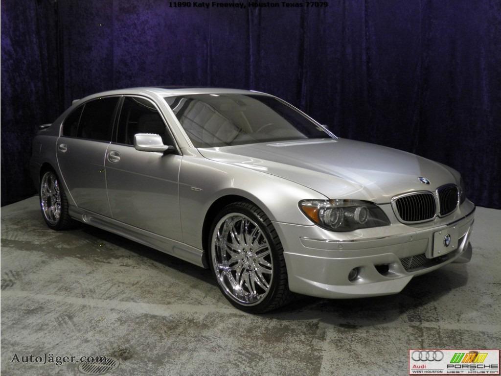 Titanium Silver Metallic Black Cream Beige BMW 7 Series 750Li Sedan