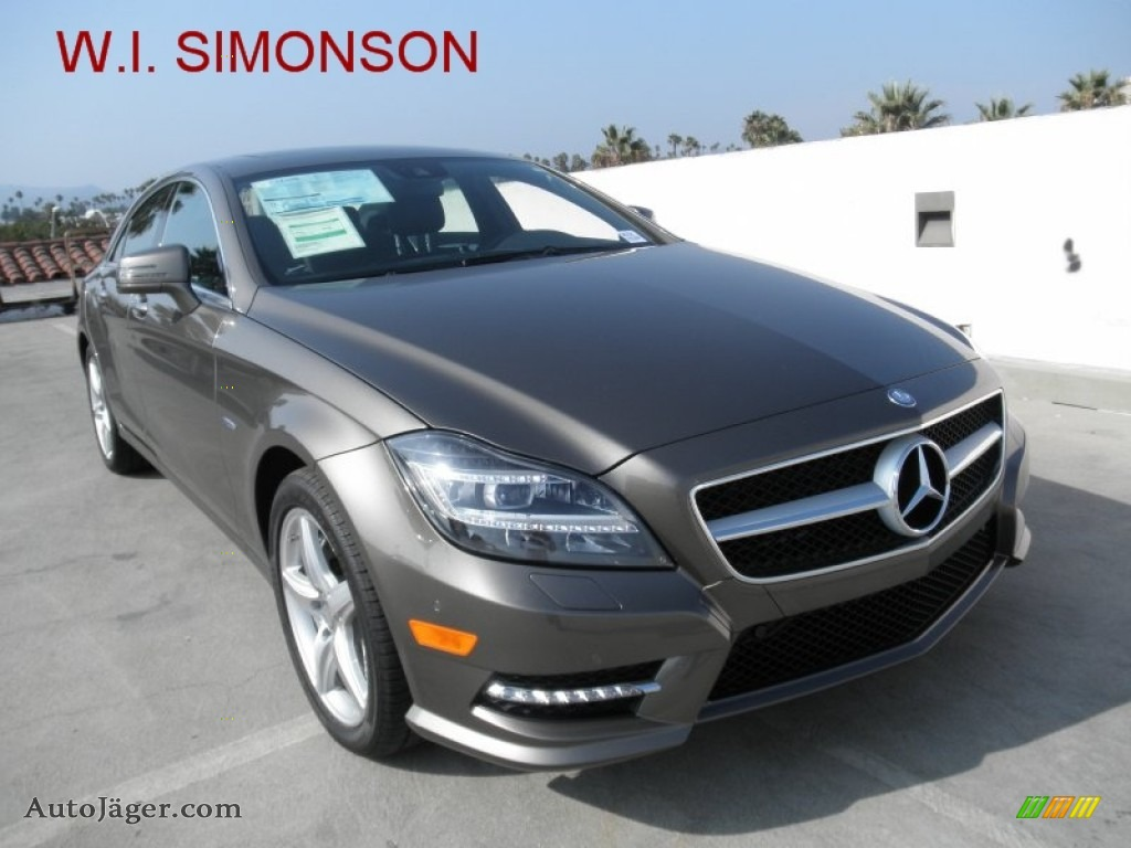 2012 mercedes benz cls 550 coupe in indium grey metallic for Simonson mercedes benz