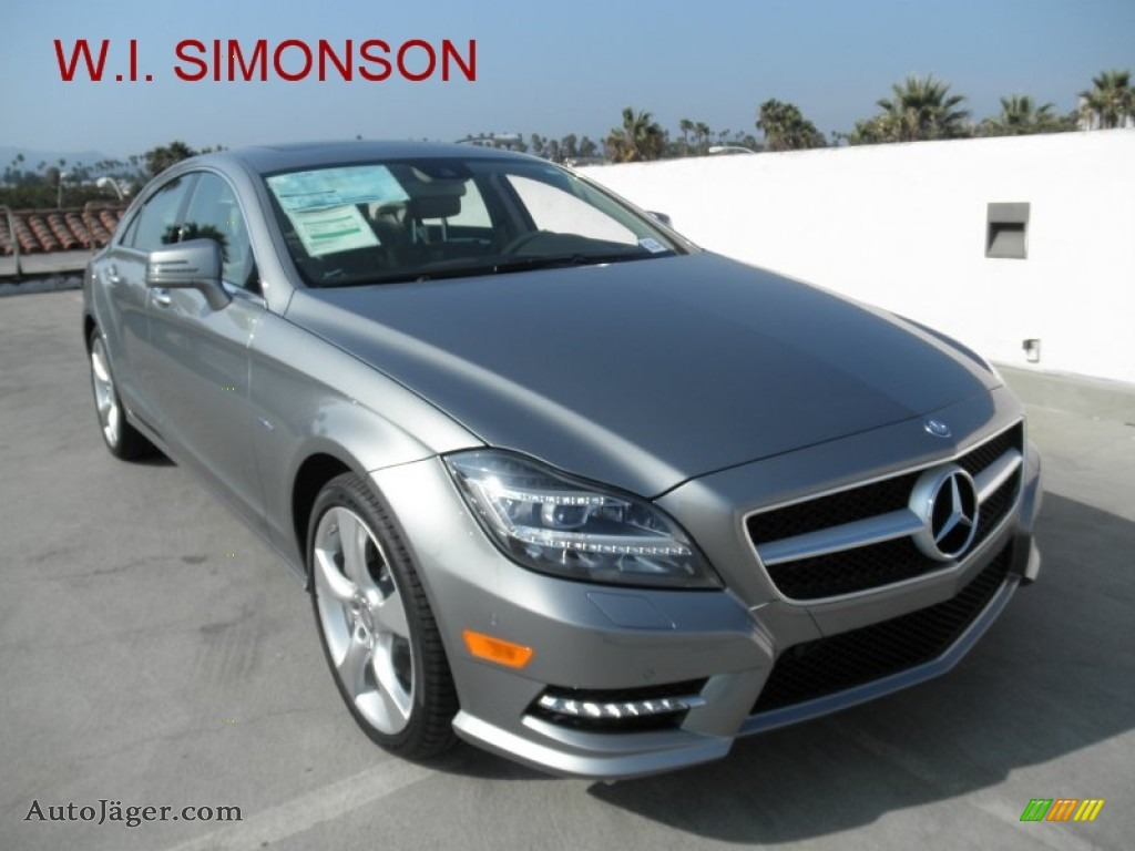 2012 mercedes benz cls 550 coupe in palladium silver for Simonson mercedes benz