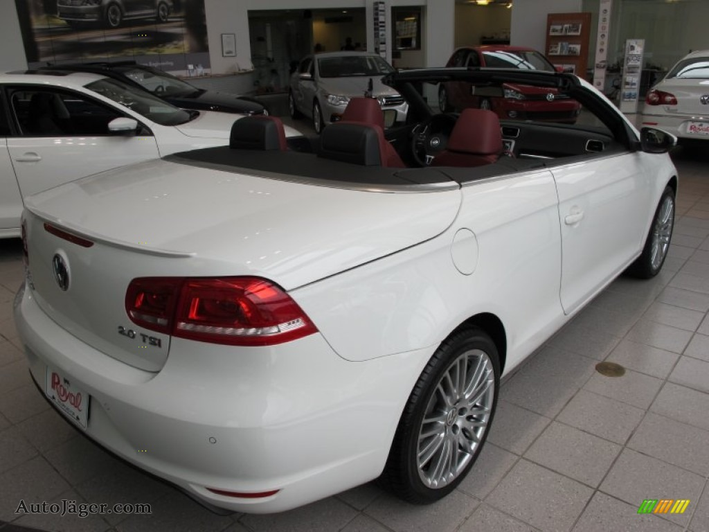 2012 volkswagen eos lux in candy white photo 4 007765. Black Bedroom Furniture Sets. Home Design Ideas