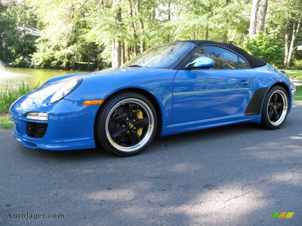 2011 Porsche 911 Speedster In Pure Blue 795655 Auto