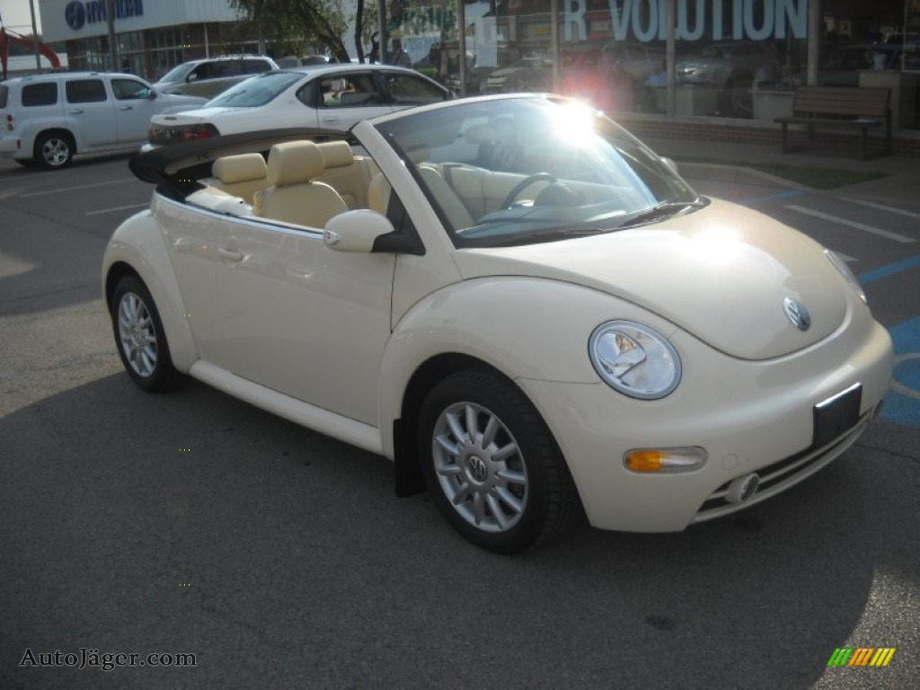 2005 Volkswagen New Beetle Gls Convertible In Harvest Moon