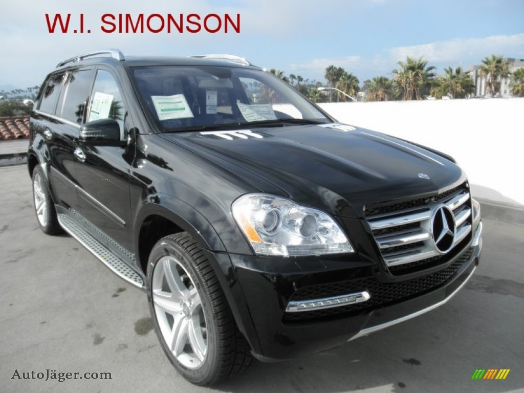 2012 mercedes benz gl 550 4matic in black 763610 auto for Simonson mercedes benz