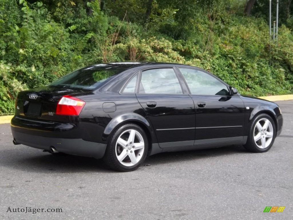 2003 Audi A4 1 8t Quattro Sedan In Brilliant Black Photo border=