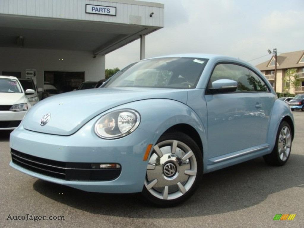 2012 volkswagen beetle 2 5l in denim blue 604187 auto j ger german cars for sale in the us. Black Bedroom Furniture Sets. Home Design Ideas