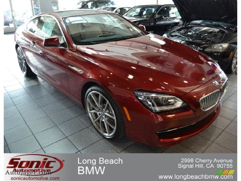 2012 BMW 6 Series 650i Coupe in Vermillion Red Metallic  528688