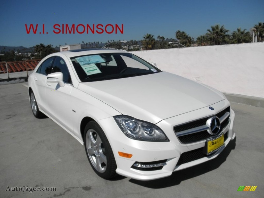 2012 mercedes benz cls 550 coupe in diamond white metallic for Simonson mercedes benz