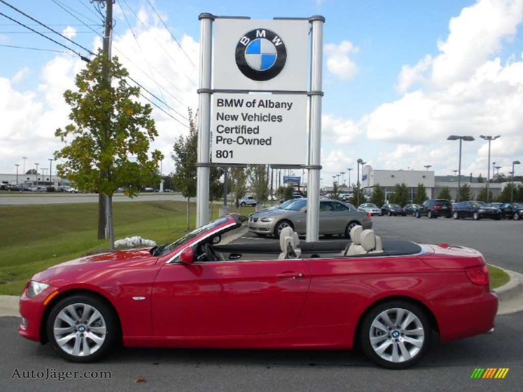 BMW Series I Convertible In Crimson Red Auto - 2012 bmw 328i convertible