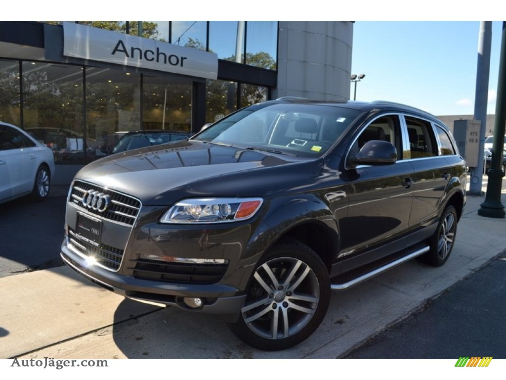 2007 audi q7 4 2 premium quattro in lava gray pearl effect 059108 auto j ger german cars. Black Bedroom Furniture Sets. Home Design Ideas