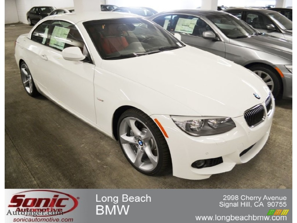BMW Series I Convertible In Alpine White Auto - 2012 bmw 335i convertible for sale