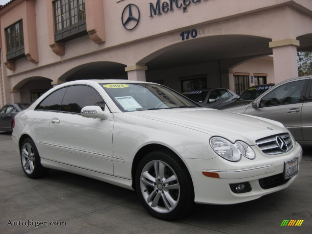 2008 Mercedes Benz Clk 350 Coupe In Arctic White Photo 13