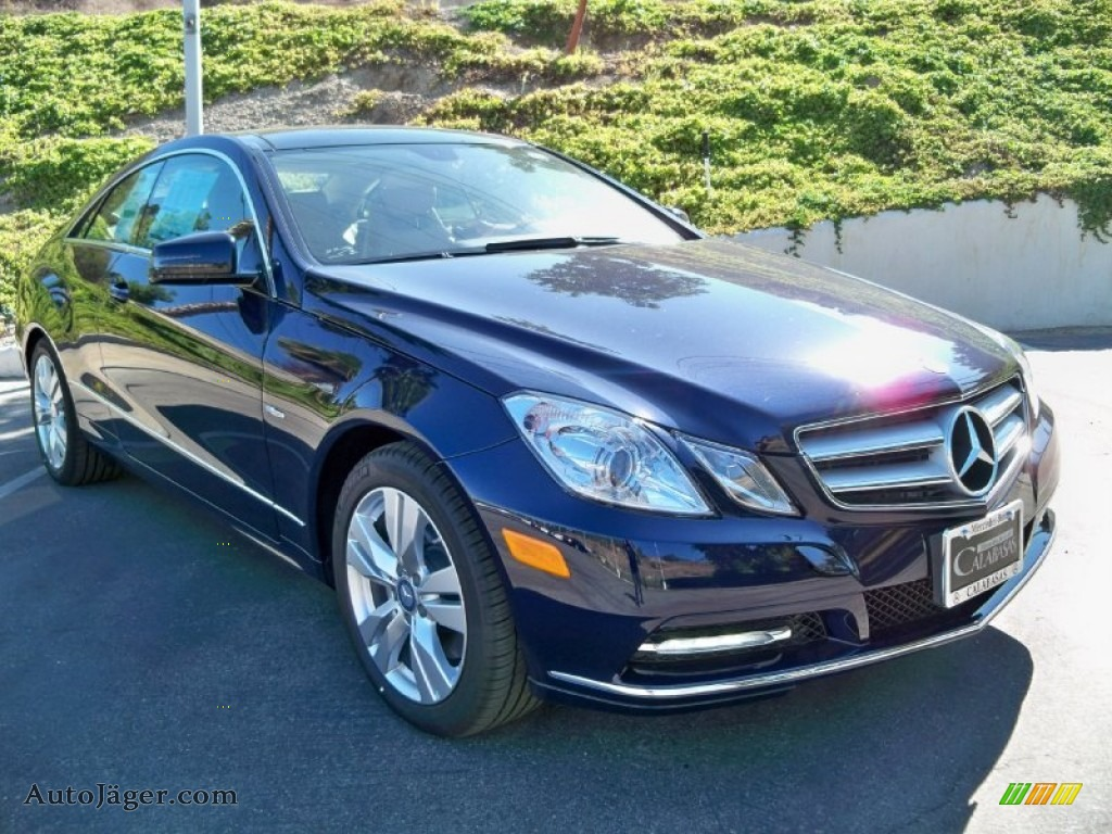 2012 mercedes benz e 350 coupe in lunar blue metallic