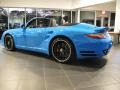 Porsche 911 Turbo S Cabriolet Paint to Sample Bright Blue photo #3