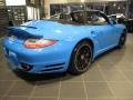 Porsche 911 Turbo S Cabriolet Paint to Sample Bright Blue photo #5