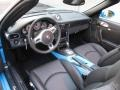 Porsche 911 Turbo S Cabriolet Paint to Sample Bright Blue photo #14