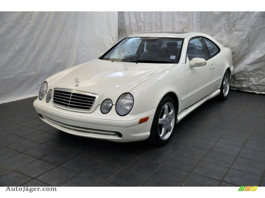2002 mercedes benz clk 430 coupe in alabaster white for Mercedes benz clk 2002