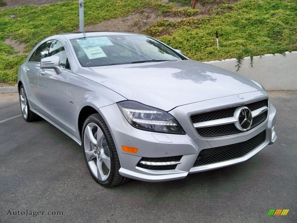 2012 mercedes benz cls 550 coupe in iridium silver metallic 017719 auto j ger german cars. Black Bedroom Furniture Sets. Home Design Ideas