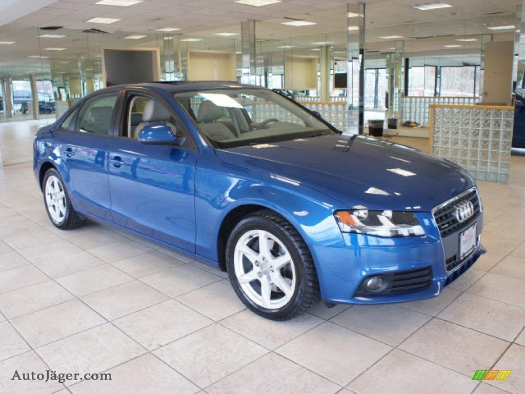 2009 audi a4 2 0t quattro sedan in aruba blue pearl effect 023247 auto j ger german cars. Black Bedroom Furniture Sets. Home Design Ideas