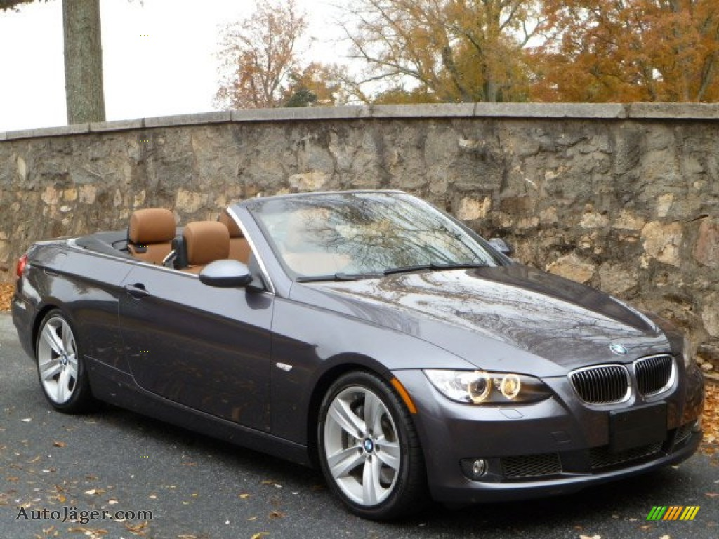BMW Series I Convertible In Sparkling Graphite Metallic - 2008 bmw 3 series 335i convertible