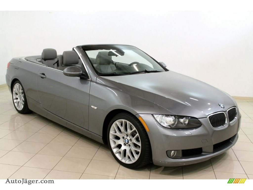2009 bmw 3 series 328i convertible in space grey metallic. Black Bedroom Furniture Sets. Home Design Ideas