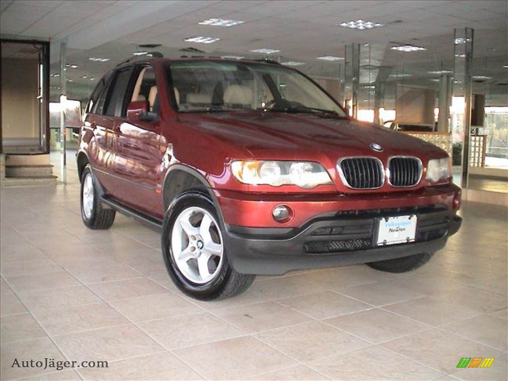 Siena red metallic grey bmw x5 3 0i