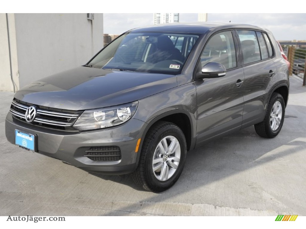 2012 Volkswagen Tiguan S In Pepper Gray Metallic Photo 3