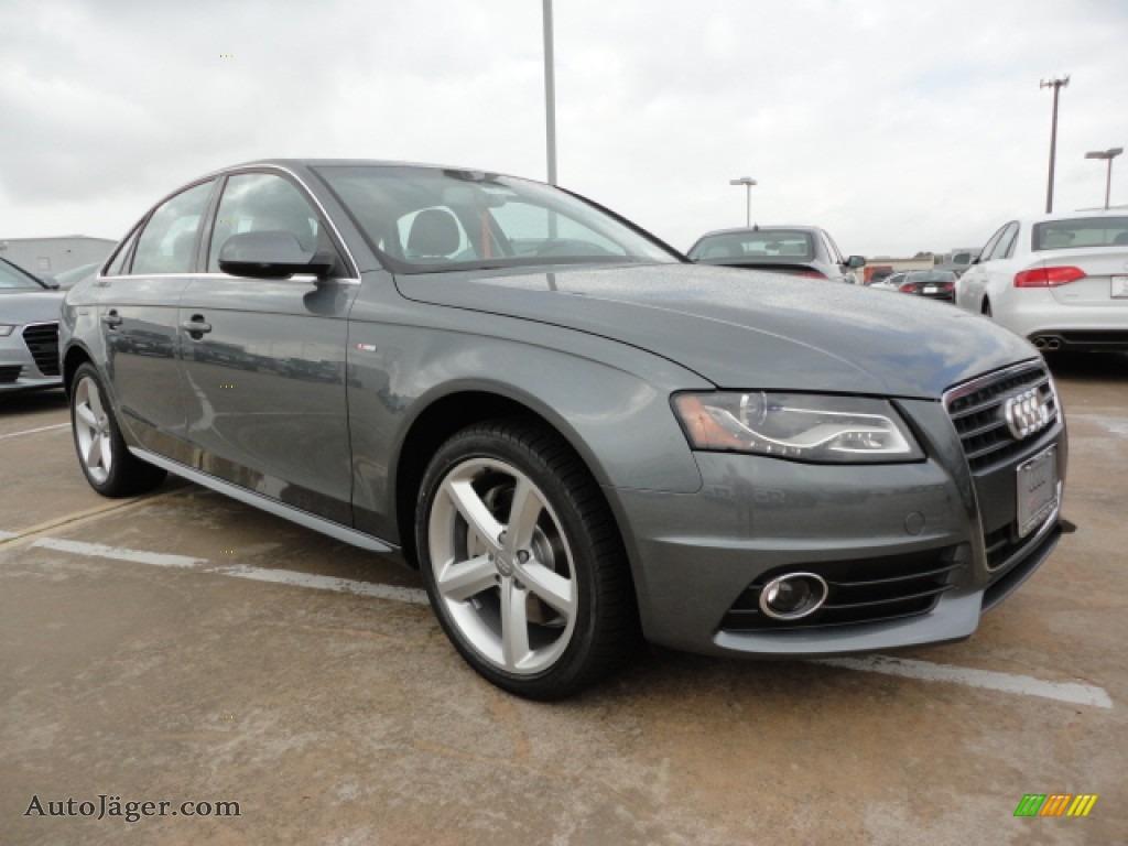 2012 Audi A4 2 0t Sedan In Monsoon Gray Metallic 011593