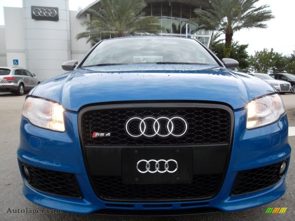 2008 audi rs4 4 2 quattro sedan in sprint blue pearl effect photo 15 900127 auto j ger. Black Bedroom Furniture Sets. Home Design Ideas