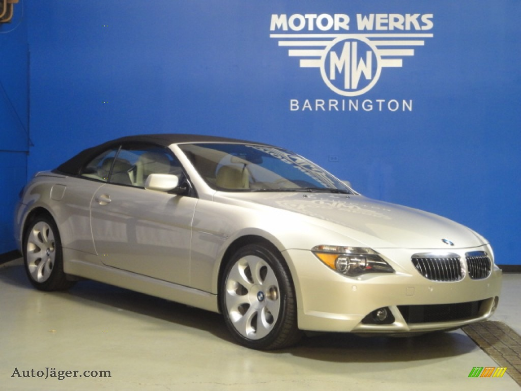 2006 bmw 6 series 650i convertible in mineral silver. Black Bedroom Furniture Sets. Home Design Ideas