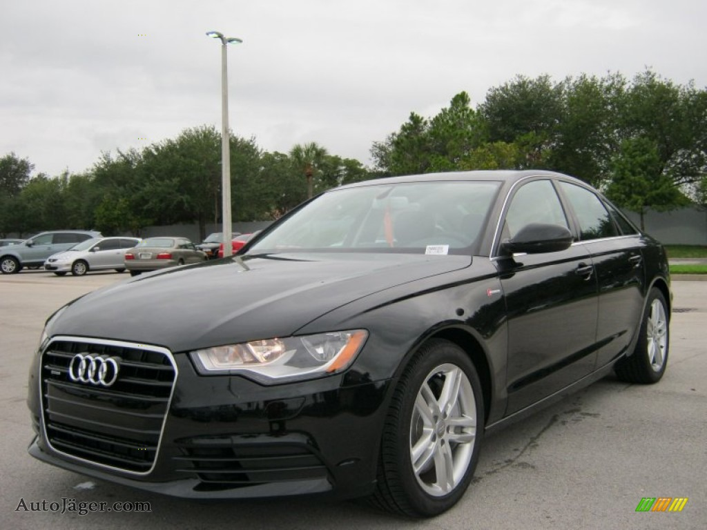 2012 Audi A6 3 0t Quattro Sedan In Brilliant Black