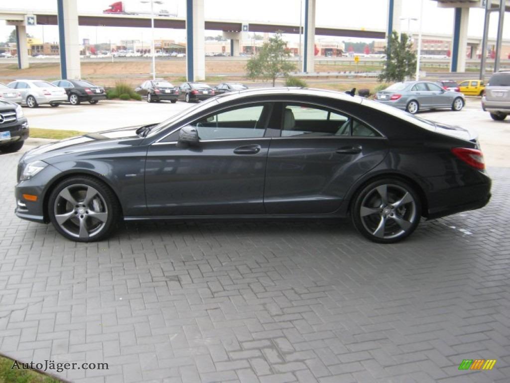 2012 mercedes benz cls 550 coupe in indium grey metallic for Mercedes benz of texarkana