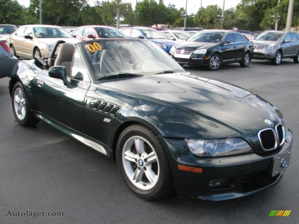 2000 Bmw Z3 2 3 Roadster In Oxford Green Metallic G03043