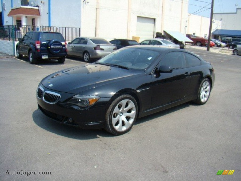2006 bmw 6 series 650i coupe in jet black r46016 auto. Black Bedroom Furniture Sets. Home Design Ideas