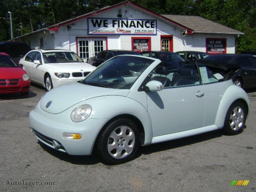 2003 volkswagen new beetle gls convertible in aquarius. Black Bedroom Furniture Sets. Home Design Ideas