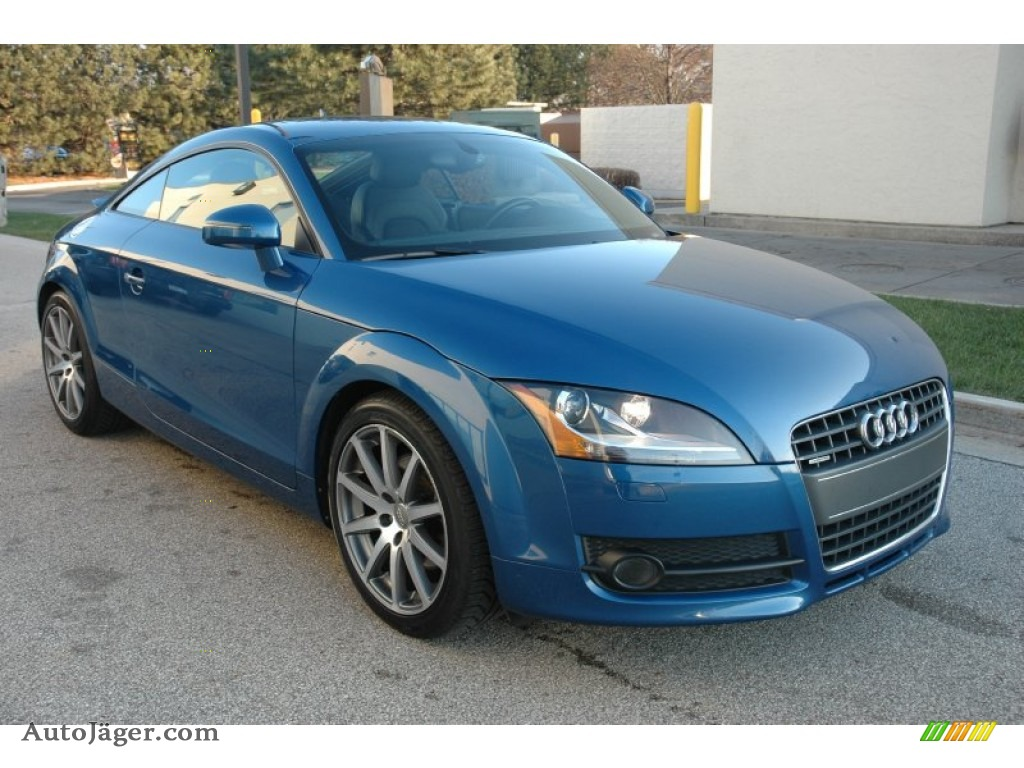 2009 audi tt 2 0t quattro coupe in aruba blue pearl effect 007958 auto j ger german cars. Black Bedroom Furniture Sets. Home Design Ideas