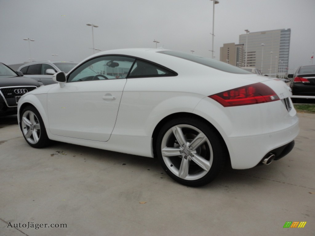 2012 audi tt 2 0t quattro coupe in ibis white 009714 auto j ger german cars for sale in the us. Black Bedroom Furniture Sets. Home Design Ideas