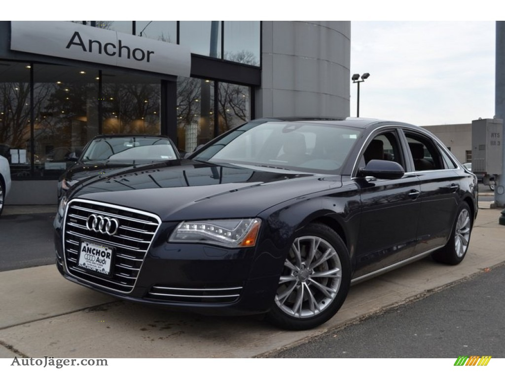2011 audi a8 l 4 2 fsi quattro in night blue pearl effect. Black Bedroom Furniture Sets. Home Design Ideas