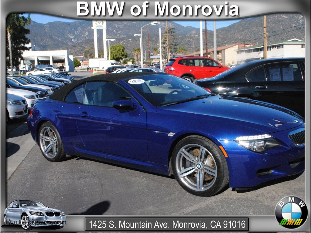 next image 2008 m6 convertible interlagos blue metallic