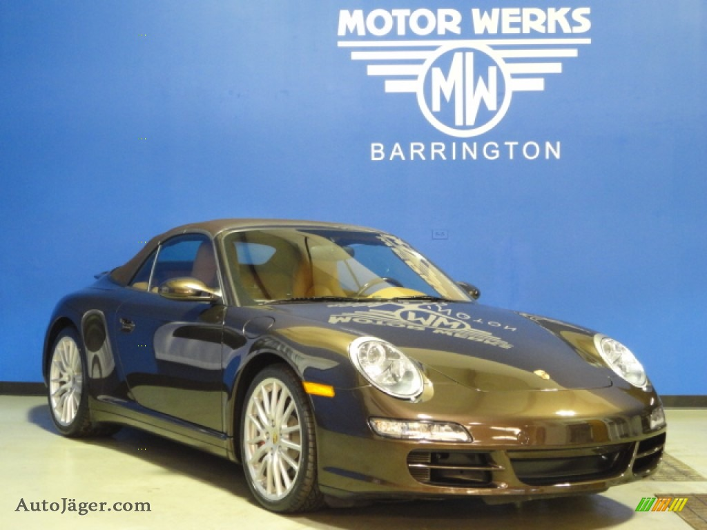 2008 porsche 911 carrera 4s cabriolet in macadamia for Motor werks barrington used cars