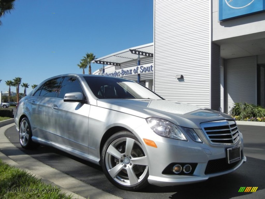 2010 mercedes benz e 350 sedan in iridium silver metallic. Black Bedroom Furniture Sets. Home Design Ideas