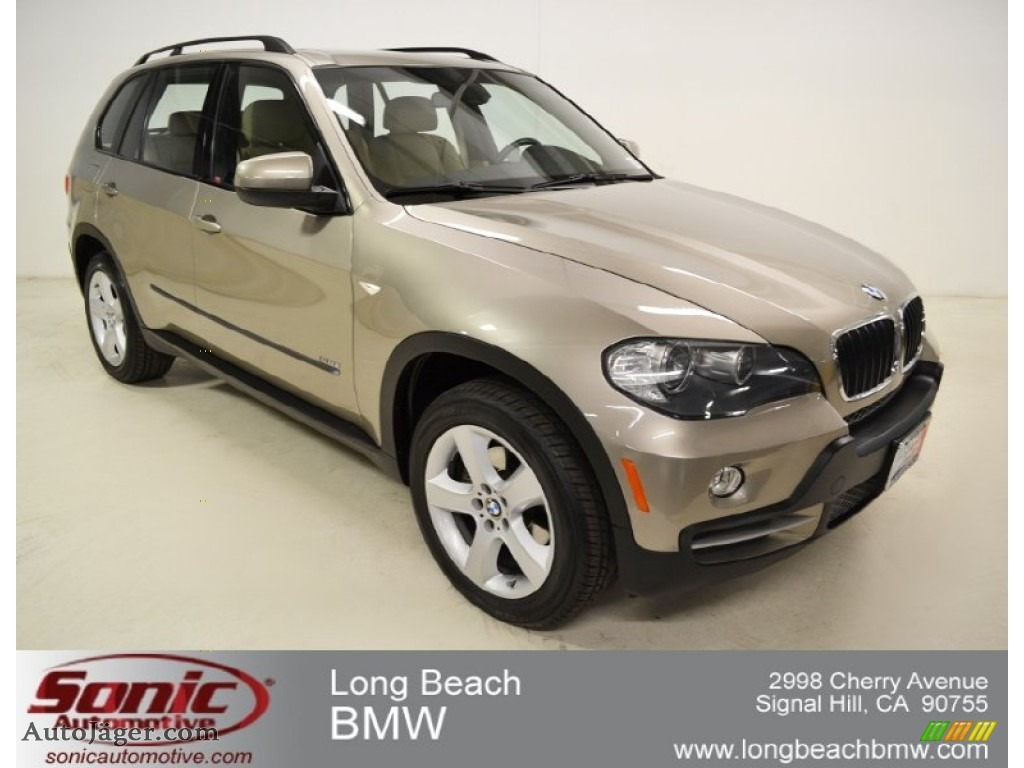 2008 bmw x5 3.0si in platinum bronze metallic - 007251 | auto