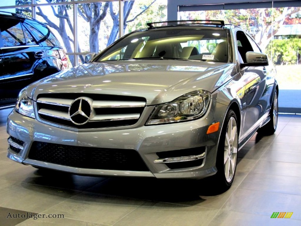 2012 mercedes benz c 250 coupe in palladium silver for Simonson mercedes benz