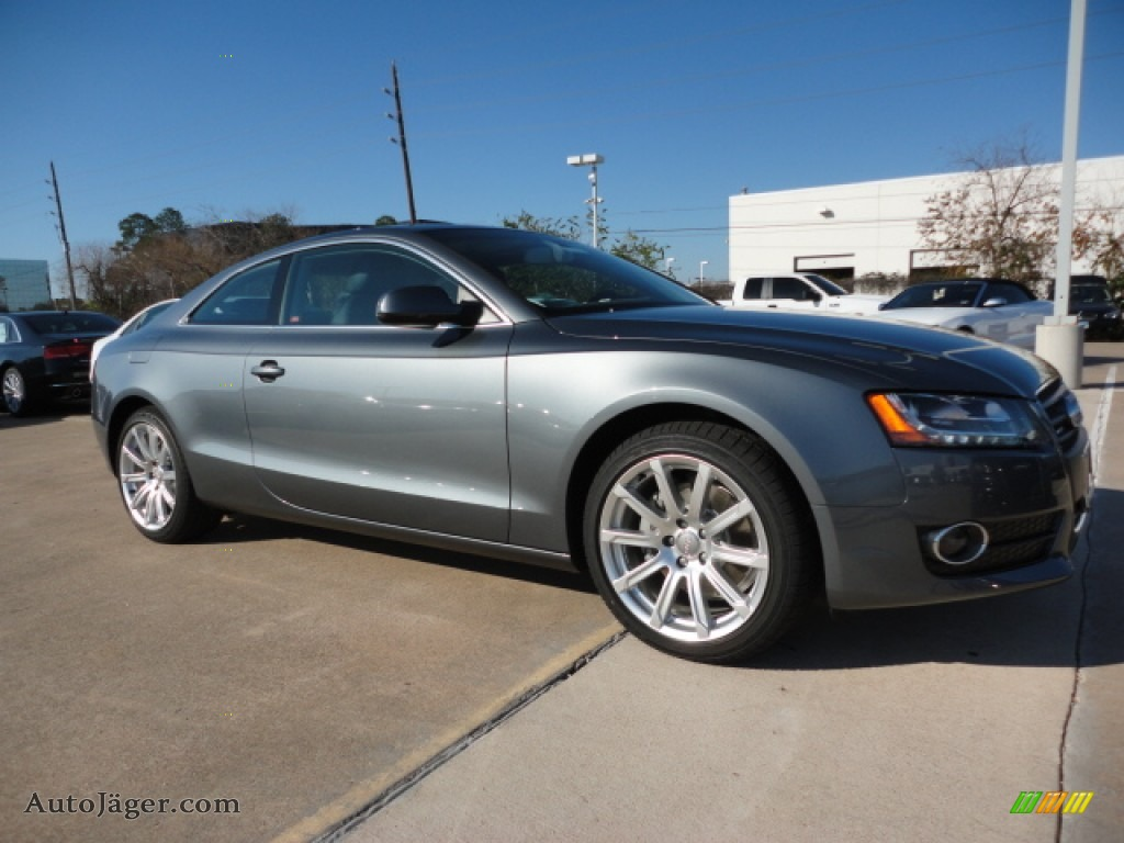 2012 Audi A5 2 0t Quattro Coupe In Monsoon Gray Metallic